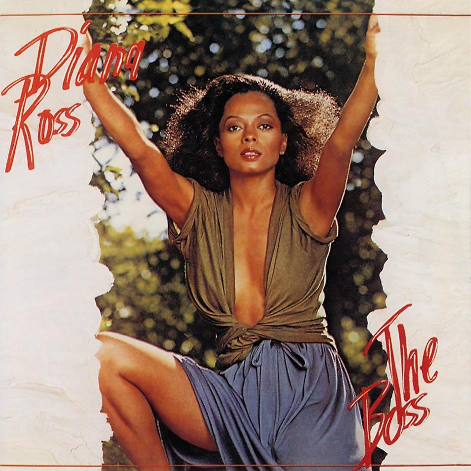 Legend Diana Ross The Boss Album Art Jacey Exo